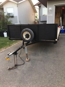 Home made utility trailer for sale