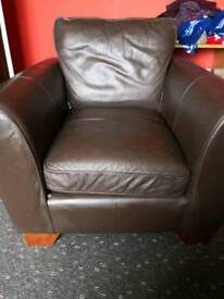Large 2 seater and chair