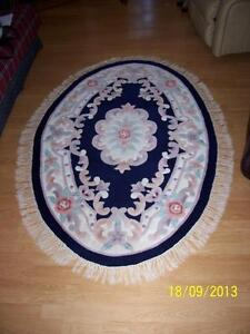 """LARGE OVAL RUG 72"""" x 47"""" FOR SALE"""