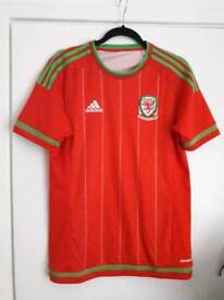 Wales football jersey