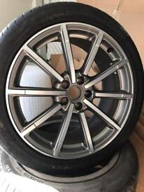 "Audi Q3 s line rs 19"" alloys tyres"