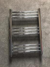 B&Q 500x700mm chrome radiator