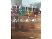 Colour Next Wine Glasses