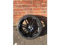 "Genuine OEM Audi A4 S4 RS4 RS6 A6 19"" Le Mans RS S Line Alloy Wheel & Tyre"