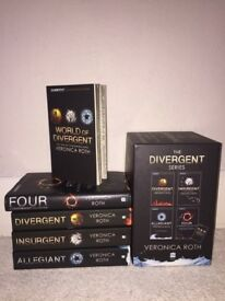 Divergent series box set Good condition