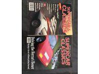 2 supercar classics magazines (collector items)