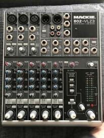 Mackie premium 8 channel mixer