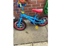 Paw patrol bike 3-5years