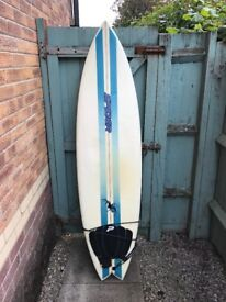 Spider 6'2, 19 1/2, 2 3/8 surfboard for sale