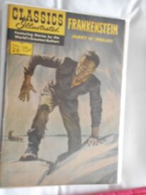 classics ilustrated . frankenstien.plus the other titles