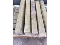 Assorted Concrete Kerb Stones For Sale