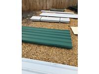 Box profile sheets and corrugated sheets