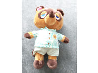 Animal Crossing Tom Nook / Them Tune Sound - Build A Bear - Brand New