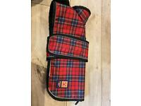 Ginger Ted small dog coat.