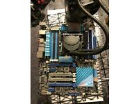 ASUS P9X79 PRO LGA 2011/Socket R Intel Motherboard, I7 3930K, 16GB, Watercooled