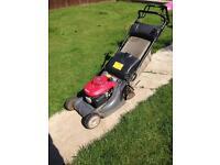 Honda hrx476 lawnmower , honda mower , petrol mower