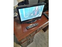16inch HD ready TV for sale.