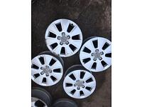 Audi 16 alloys wheels good condition cheap