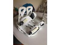 Burton Custom Bindings white size medium
