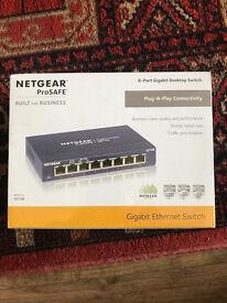 8 port Netgear pro SAFE switch. Brand new