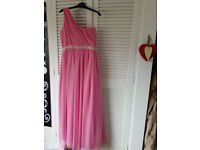 Bridesmaid dress / prom / party dress Pink size 6-8 and size 12-14