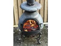 Patio heater wood/logs/coal