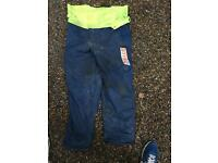 Stihl chain saw trousers size 32/36 waist
