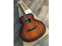 Stunning mini Koa Tanglewood Electro Acoustic Guitar RRP £449