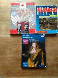 A level history books