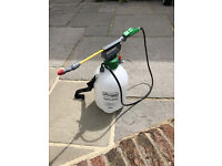 Kingfisher 5L Pump Action Pressure Sprayer - use with water, fertilizer or pesticides
