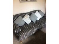 3 Seater sofa2 Seater sofa arm chair & pouffe