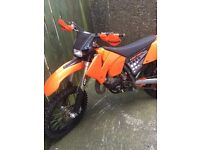 Ktm 125 sx on the road yz cr kx rm