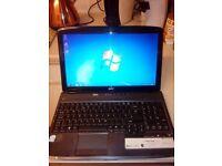 Acer aspire laptop on windows7