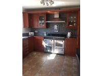 Lovely kitchen with intergrated dishwasher and fridge freezer for sale