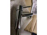 Grohe Stainless Steel Mixer Tap