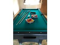 7ft Gamesson Pool Table - Mint Condition
