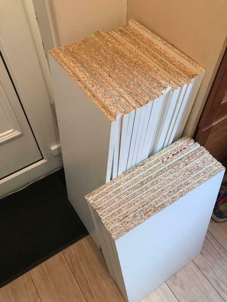SHELVING - White X27 - Melamine Faced Chipboard Conti Board | in Kirkstall,  West Yorkshire | Gumtree