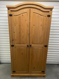 PINE DOUBLE WARDROBE. Free delivery!!!