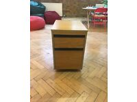 JOB LOT OF 5 VINTAGE 70S/80S SCHOOL FILING CABINETS