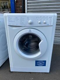 Indesit washer dryer 6*4 kg like new beautiful condition