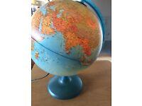 'World Globe' electrical Lamp
