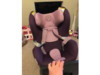Cybex Sirona car seat purple
