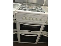 50CM WHITE BELLING GAS COOKER