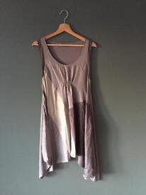 Silk Mint Velvet dress, size 12