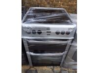 GREY BEKO FREE STANDING 60cm ELECTRIC COOKER FOR SALE, EXCELLENT CONDITION
