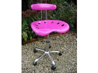 Funky,Retro Style,Adjustable Height,Swivel Chair.