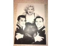 Picture frame with Marilyn Monroe, Tony Curti & Jack Lemmon