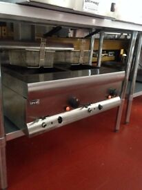 Lincat double tank natural gas fryer Used Good Condition