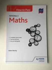 Hodder Gibson How to Pass National 5 Maths