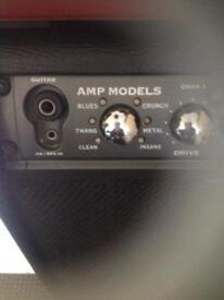 Guitar amp combo